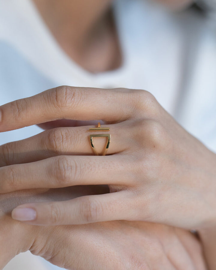 LIA RING/GOLD